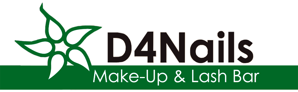 D4 makeup nails logo website