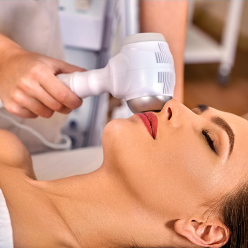 Ultrasonic massage
